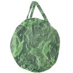 Geological Surface Background Giant Round Zipper Tote