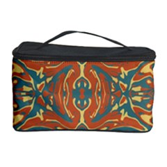 Multicolored Abstract Ornate Pattern Cosmetic Storage Case