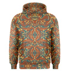 Multicolored Abstract Ornate Pattern Men s Pullover Hoodie