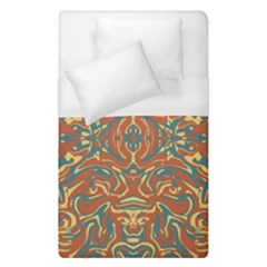 Multicolored Abstract Ornate Pattern Duvet Cover (single Size)