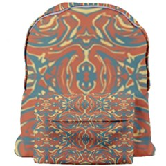 Multicolored Abstract Ornate Pattern Giant Full Print Backpack