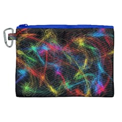 Background Light Glow Abstract Art Canvas Cosmetic Bag (xl)