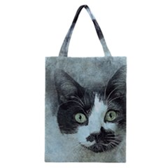 Cat Pet Art Abstract Vintage Classic Tote Bag
