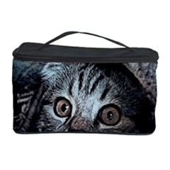 Cat Pet Art Abstract Vintage Cosmetic Storage Case