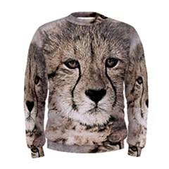 Leopard Art Abstract Vintage Baby Men s Sweatshirt