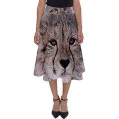 Leopard Art Abstract Vintage Baby Perfect Length Midi Skirt