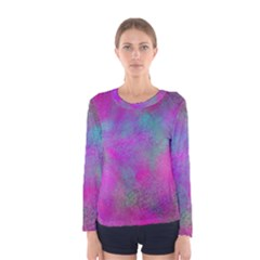 Background Texture Structure Women s Long Sleeve Tee