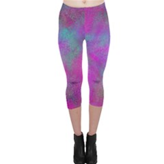 Background Texture Structure Capri Leggings