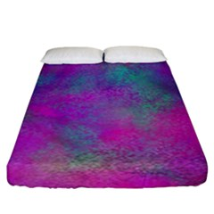 Background Texture Structure Fitted Sheet (king Size)