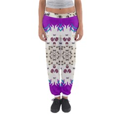 Eyes Looking For The Finest In Life As Calm Love Women s Jogger Sweatpants