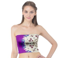 Eyes Looking For The Finest In Life As Calm Love Tube Top