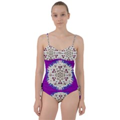 Eyes Looking For The Finest In Life As Calm Love Sweetheart Tankini Set