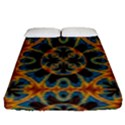 Tapestry Pattern Fitted Sheet (Queen Size) View1