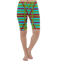 Gift Wrappers For Body And Soul Cropped Leggings