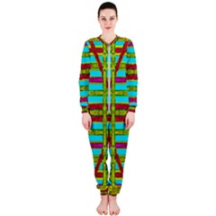 Gift Wrappers For Body And Soul Onepiece Jumpsuit (ladies)