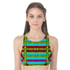 Gift Wrappers For Body And Soul Tank Bikini Top