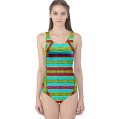 Gift Wrappers For Body And Soul One Piece Swimsuit