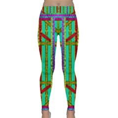 Gift Wrappers For Body And Soul In  A Rainbow Mind Classic Yoga Leggings