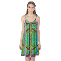 Gift Wrappers For Body And Soul In  A Rainbow Mind Camis Nightgown