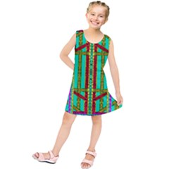 Gift Wrappers For Body And Soul In  A Rainbow Mind Kids  Tunic Dress
