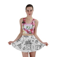Set Chalk Out Scribble Collection Mini Skirt