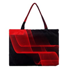 Background Light Glow Abstract Art Medium Tote Bag