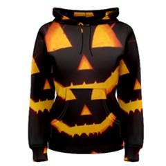 Pumpkin Helloween Face Autumn Women s Pullover Hoodie