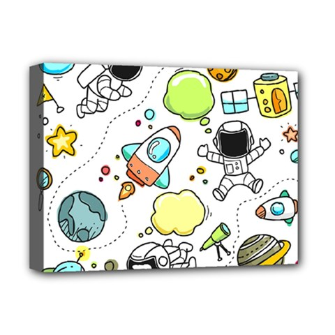 Sketch Set Cute Collection Child Deluxe Canvas 16  X 12