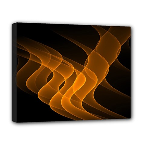 Background Light Glow Abstract Art Deluxe Canvas 20  X 16