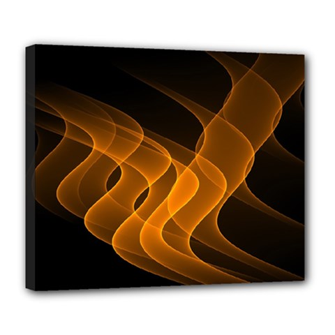 Background Light Glow Abstract Art Deluxe Canvas 24  X 20