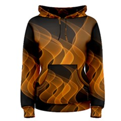 Background Light Glow Abstract Art Women s Pullover Hoodie