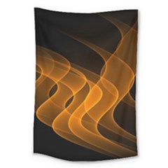 Background Light Glow Abstract Art Large Tapestry
