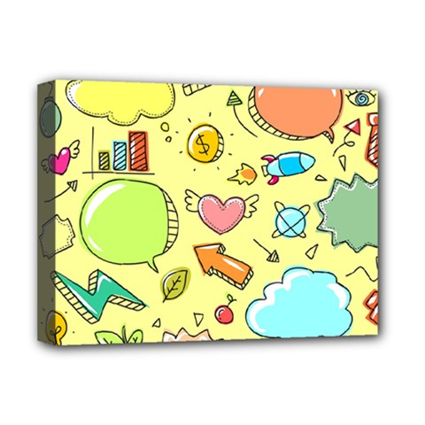 Cute Sketch Child Graphic Funny Deluxe Canvas 16  X 12