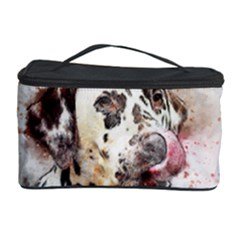 Dog Portrait Pet Art Abstract Cosmetic Storage Case