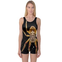 Nsect Macro Spider Colombia One Piece Boyleg Swimsuit