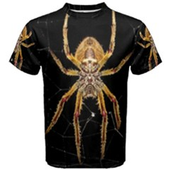 Nsect Macro Spider Colombia Men s Cotton Tee