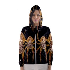 Nsect Macro Spider Colombia Hooded Wind Breaker (women)