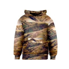 Iceland Mountains Sky Clouds Kids  Pullover Hoodie