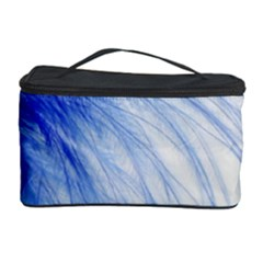Spring Blue Colored Cosmetic Storage Case
