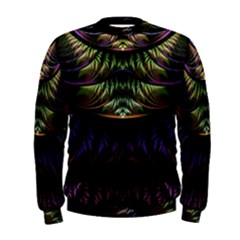 Fractal Colorful Pattern Fantasy Men s Sweatshirt