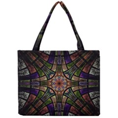 Fractal Detail Elements Pattern Mini Tote Bag
