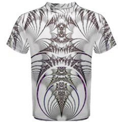 Fractal Delicate Intricate Men s Cotton Tee