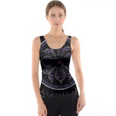 Fractal Abstract Purple Majesty Tank Top