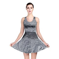 Abstract Art Decoration Design Reversible Skater Dress