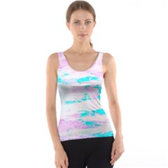 Background Art Abstract Watercolor Tank Top