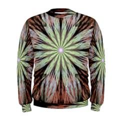 Fractal Floral Fantasy Flower Men s Sweatshirt