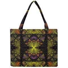 Fractal Multi Color Geometry Mini Tote Bag