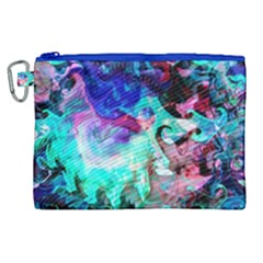 Background Art Abstract Watercolor Canvas Cosmetic Bag (xl)