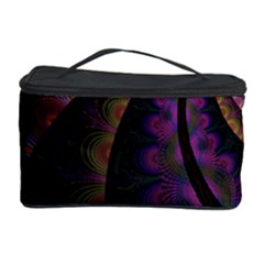 Fractal Colorful Pattern Spiral Cosmetic Storage Case