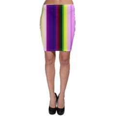 Abstract Background Pattern Textile 2 Bodycon Skirt
